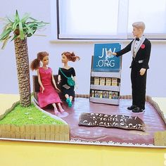 Cake for a pioneer school in Italy.