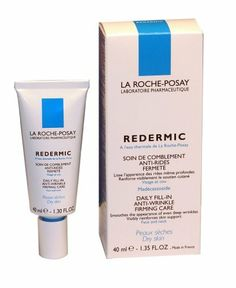 La Roche-Posay Redermic Daily Fill-In Anti-Wrinkle Firming Care for Dry Skin (40ml) 1.35 Fluid Ounce Tube by La Roche-Posay. $30.80. La Roche-Posay Redermic has been proven to increase firmness leaving a smoother, younger looking appearance. Helps corrects wrinkles, on both face and neck. 80% of patients using Redemic Dry recorded 33% average imporvement over 6 months as measured by dermatologist.