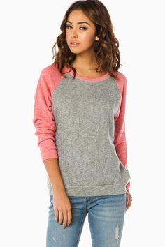 ShopSosie Style : Doyle Sweater in Pink