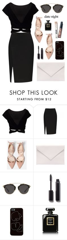 """Babe"" by cyberqueenn on Polyvore featuring Verali, Christian Dior, Chanel and Zero Gravity"