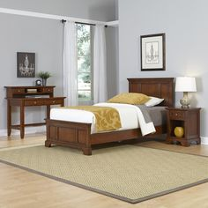 Chesapeake Panel 3 Piece Bedroom Set