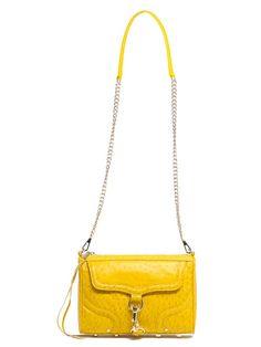 Neon Rebecca Minkoff crossover bag