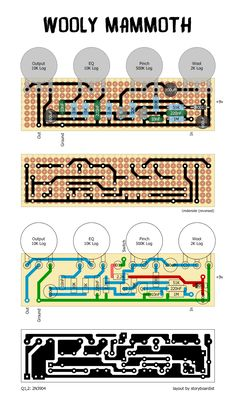 Perf and PCB Effects Layouts: Search results for wooly