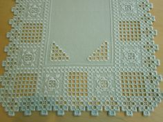 Tablecloths Hardanger Hand Work Long Runner 40x90cm.