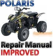 polaris scrambler 500 atv service repair manual 2004 2005 download rh pinterest com 2000 Polaris Scrambler 500 1995 Polaris Scrambler 500