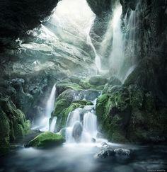 Angels Fall - Petrosani, Romania