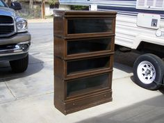 """4 stack """"D""""-Globe Wernicke with drawer-UK  / SOLD"""