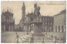 TORINO (1917) Piazza Carlo Felice
