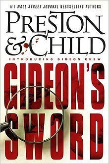 Gideon's Sword (Preston and Child) book cover.jpg