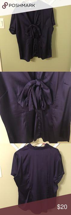 XL NY&C Dress Shirt XL Purple NY&C Dress Shirt. Minimally worn. Great condition. New York & Company Tops Blouses
