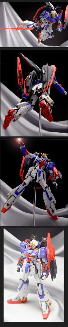 MG ゼータガンダム Ver2.0 改修塗装製作