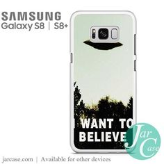 i want to believe ufo Phone Case for Samsung Galaxy S8 & S8 Plus
