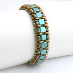 Náramky - Kleopatra - náramok tmavé zlato - 4337939_