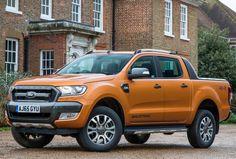 Ford Ranger Wildtrak UK-spec '2015–н.в.