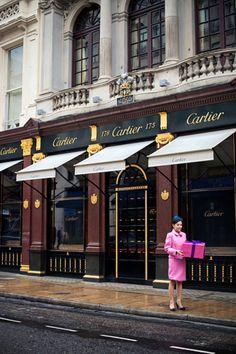 Cartier, Londres.
