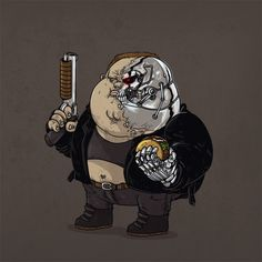 Alex Solis - The Famous Chunkies Terminator