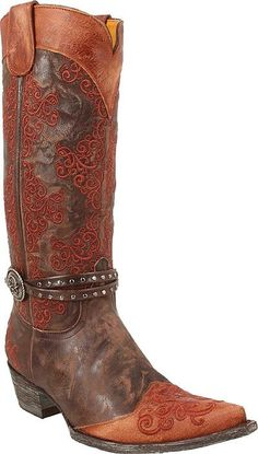 Womens Old Gringo Boots Inese ...just bought these hotties for 55 percent off list......LOVE OLD GRINGOS! This is pair number seven.