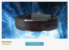Polar Loop Activity Tracker Shows daily activity, calories burned, steps taken, time of day and activity feedback on 85 LED display; Plus monitors sleep patterns