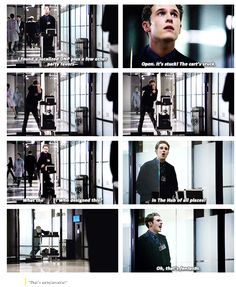 Guys, supposedly this was unscripted. UNSCRIPTED. This is like, my favorite aos scene ever, and that just makes it BETTER