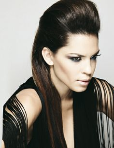 Penteado Moicano urban glamourous | maquilhagem, looks e glamour