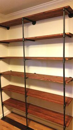 Galvanized Pipe Closet