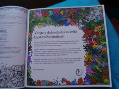Animorphia / Proměny zvířat coloring book / antistresové omalovánky