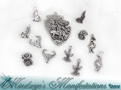 {1}Southwest Inspired Pendant, Bead & Charms Bundle #93. Starting at $5 on Tophatter.com!