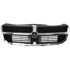 2008-2010 Dodge Avenger Grille, Chrome Shell/ Black