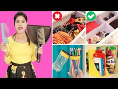 Smart Life Saving Cleaning & Organization Hacks Every Girl Should Know | Brilliant Life Hacks - YouTube Life Hacks Youtube, Hacks Every Girl Should Know, Organization Hacks, Cleaning, Queen, Diy, Bricolage, Do It Yourself, Home Cleaning