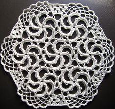 10 Free Crochet Doily Patterns: Spiral Doily Free Vintage Crochet Pattern