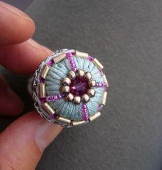 Häkelring Crochet Ring Baumwoll Ring Geschenk für Frau | Etsy Diy Jewelry, Jewelry Necklaces, Jewelry Making, Jewelry Ideas, Jewellery, Crochet Rings, Aqua, Turquoise, Fancy