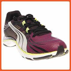 PUMA Women's Mobium Elite V2 Beta Running Shoe,Magenta/Black/Silver Metallic,5.5 B US - Athletic shoes for women (*Amazon Partner-Link)