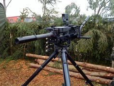 Heckler and Koch HK GMG (Grenade Machine Gun) - fires 40mm grenades up to 360 rounds per min Big Guns, Cool Guns, Heckler & Koch, Pew Pew Pew, Fire Powers, Military Guns, War Machine, Machine Guns, Assault Rifle