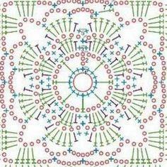 Image result for graficos de flores de croche