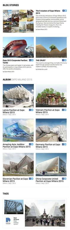 Have you read our latest newsletter yet? It's entirely dedicated to @Expo2015Milano  so you don't want to miss it!   Check out the best pavilions and stories about #architecture #pavilion #expo2015