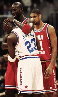 Jordan & Garnett All Star Game