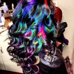 Multiple color hair