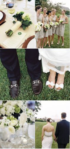 not crazy about the bride and groom feet pic..but, love the others!