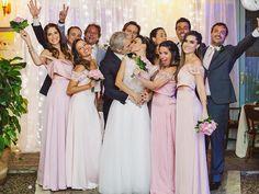 Bianca rumo ao altar | O casamento real