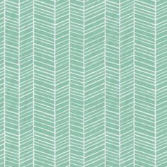 Mint Herringbone Crib Sheet ($34) ❤ liked on Polyvore featuring home, children's room, children's bedding and baby bedding