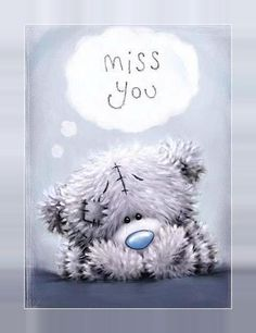 Tatty Teddy-Miss you