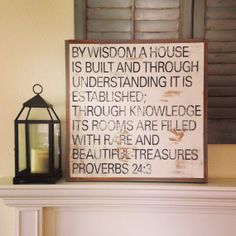 Rare Treasure Sign by BetweenYouAndMeSigns on Etsy Treasure Quotes, Proverbs 24, Uplifting Thoughts, Sweet Quotes, Scripture Verses, Bridal Gifts, Cool Words, Wood Signs, Wisdom