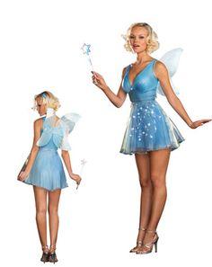 Womans Blue Fairy Costume