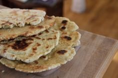 Gluten free Naan - when I made this I used almond milk yogurt instead of milk yogurt and oil so it was fat free and vegan. It was good!