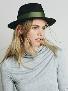 Adora by Sun 'n' Sand Fairbank Felt Hat at Free People Clothing Boutique