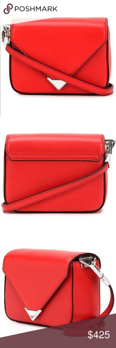 Alexander Wang Bag 100% authentic Alexander Wang mini prisma bag in red. Super cute bag! Brand new with tags still attached. Bought this because I really wanted a red bag, but ended buying a different bag instead. Purchased from the Alexander Wang website. Purchased in the last 6 months and still have the receipt as well. Alexander Wang Bags