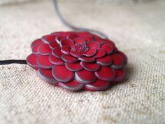 jewlery, polymer, clay, pendant, flower Polymer Clay, Jewlery, Pendants, Flowers, Jewels, Trailers, Jewerly, Jewelry, Jewelery