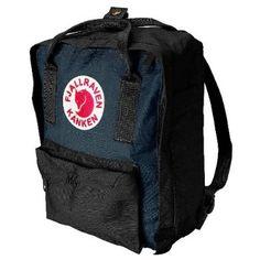 Fjallraven Kanken Mini Daypack, Black/Graphite