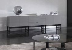 Contemporary sideboard / by Rodolfo Dordoni - HARVEY
