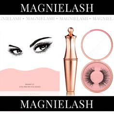 100% Money-Back Guarantee EACH KIT INCLUDES 1 Tube of The New Magnetic Eyeliner 1 Pair of MagnieLashes 1 Eyelash Case with Mirror 1 Eyelash Applicator LEVELING UP YOUR LASHES IS EASY AS...  #1 LINE UP  #2 LASH UP  #3TIMES UP! Why choose the MagnieLash? SAFE-We use FDA approved ingredients and it's latex-free EAS #EyelashExtensionsNatural